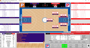 Action! PC Basketball gamescreen 2019